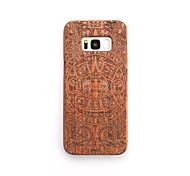 Funda Para Samsung Galaxy S8 Plus S8 Antigolpes Diseños Cubierta Trasera Halloween Dura Madera para S8 Plus S8 S7 edge S7 S6 edge plus S6