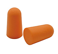 5 Pairs Travel Soft Ear Plugs Random Color Plastic Bag Pack