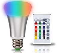 cheap -KWB 1set 10W 900 lm E27 LED Smart Bulbs A70 1 leds COB 2 in 1 RGB+Warm AC 85-265V
