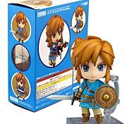 Anime Action-Figuren Inspiriert von The Legend of Zelda Link PVC 10 CM Modell Spielzeug Puppe Spielzeug