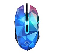 cheap -W39 Wired Gaming Mouse DPI Adjustable Backlit 1000/1600/2400/3200