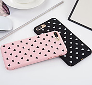 cheap -Case For Apple iPhone 6 iPhone 6 Plus iPhone 7 Plus iPhone 7 Shockproof Full Body Cases Heart Hard PC for iPhone 7 Plus iPhone 7 iPhone