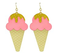 cheap -Women's Drop Earrings Lovely Fashion Acrylic Alloy Ice Cream Jewelry For Daily New Year