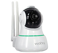 abordables -VESKYS 2mp IP Camera Interior with Infrarrojo 128GB / PTZ / Con Cable / CMOS / Sin Cable / Dirección Dinámica IP
