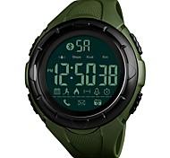 baratos -Homens Relógio Esportivo Relógio de Pulso Relogio digital Japanês Digital Bluetooth Alarme Calendário Cronógrafo Impermeável Controlo