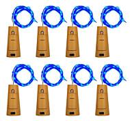 economico -BRELONG® Fili luminosi 10 LED Bianco caldo Bianco Viola Verde Blu Impermeabile <5V