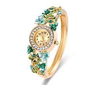 cheap -Women's Fashion Watch Bracelet Watch Wrist watch Chinese Quartz Chronograph Alloy Band Casual Bangle Elegant Christmas Gold
