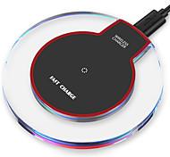 Недорогие -Беспроводное зарядное устройство Зарядное устройство USB Универсальный Qi Не поддерживается 1 A