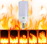 cheap -YWXLight® 1PCS E26 E14 B22 LED Flicker Flame Effect LED Fire Bulb Fire Burning AC 85-265V