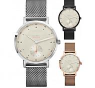 preiswerte -Herrn Damen Modeuhr Armbanduhr Einzigartige kreative Uhr Chinesisch Quartz Kalender Chronograph Legierung Band Freizeit Cool Elegant