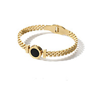 cheap -Women's Bangles Fashion Korean Steel Alloy Circle Jewelry For Other Gift