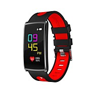 0.96 дюймовый цветной экран мужской мужской умный браслет крови кислород / кровяное давление / сердечный ритм монитор шагомеры для ios