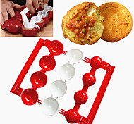 cheap -Baking & Pastry Tools Round Novelty For Home Everyday Use Multifunction Fruit Vegetable Meat Cooking Utensils Rice Fish Plastics