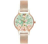 Damen Kinder Armbanduhren für den Alltag Modeuhr Einzigartige kreative Uhr Chinesisch Quartz Chronograph Wasserdicht Legierung Leder Band