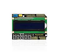 Недорогие -keyestudio 1602lcd щит клавиатуры для arduino lcd дисплей atmega2560 для малины pi uno синий экран черный модуль