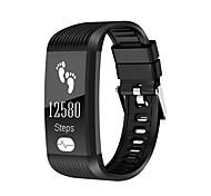 Недорогие -k10 smart wristband ecg heart rate monitor ip67 водонепроницаемый беспроводной зарядный браслет для Android android ios phone