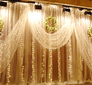 3M X 3M 300 LED Window Curtain String Light for Wedding Party Home Garden Bedroom Outdoor Indoor Wall Decorations