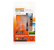 Teléfono móvil Kit de herramientas de reparación Pinzas Destornillador Ventosa Plástico / acero Stianless Pry Herramientas de Recambio