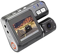 cheap -I1000 720p Car DVR 90 Degree Wide Angle 1.8 inch LCD Dash Cam with Night Vision / Loop recording Car Recorder