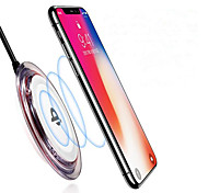 cheap -Non-slip Qi Wireless Charger for iPhone X iPhone 8 Samsung Note 8 S9 Plus S8 Plus S7 Or Other Built-in Qi Receiver Smart Phone