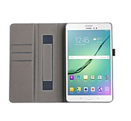 cheap -Case For Tab S 10.5 Samsung Galaxy Tab A 9.7 Tab S2 9.7 Tab S2 9.7 Tab A 10.1 (2016) Card Holder Wallet with Stand Auto Sleep/Wake Up