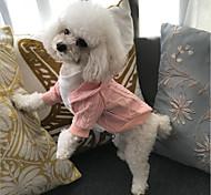 Недорогие -Кошка Собака Плащи Свитера Толстовки Декорации Одежда для собак Для вечеринки новый На каждый день Сохраняет тепло Для отдыха Chrismas