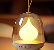 Недорогие -1pc светодиодный светильник с перезаряжаемой лампой с USB-портом с регулировкой яркости