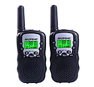 Baofeng T3 Mini Walkie Talkie Kids Radio 0.5W 8/22CH LCD Display Amateur Two-way Radio