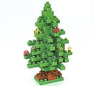baratos -Blocos de Construir Blocos de diamante LOZ Natal Faça Você Mesmo Non Toxic Natal Tema Flores Férias Brinquedos Dom