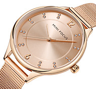 Women's Casual Watch Wrist watch Japanese Quartz Casual Watch Stainless Steel Band Luxury Casual Black Silver Gold Rose Gold