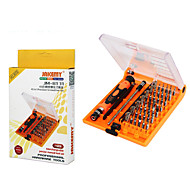 cheap -Cell Phone Repair Tools Kit 45 in 1 Tweezers Screwdriver Extension Bit Screwdriver Sim Card Ejector Pin Replacement Tools