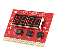 Computer Motherboard LED 4 Digit Analysis Diagnostic Test POST Card PCI