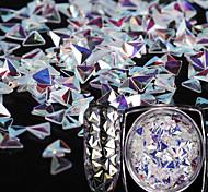 Недорогие -1 классический ювелирный арт-деко / ретро яркие блестки дизайн ногтей
