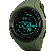 cheap -Men's Sport Watch Digital Watch Wrist watch Japanese Digital Alarm Calendar / date / day Chronograph Water Resistant / Water Proof