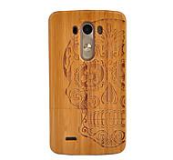 cheap -Case For LG G3 LG G3 Shockproof Back Cover Skull Hard Bamboo for