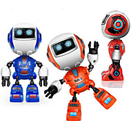 RC Robot Learning & Education 2.4G Chrome Alloy With Speaker Music Casual Glow Mini Sound Out NO