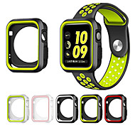 cheap -For Apple Watch 3 Series 1 2 38mm 42mm Scratch-resistant Flexible Case Slim Lightweight Protective Bumper Cover Add Strap Band