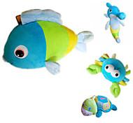 Недорогие -Мягкие игрушки Игрушки Рыбки Черепаха гиппокамп Животные Сказки на ночь Животные Черепаховый Взрослые 1 Куски