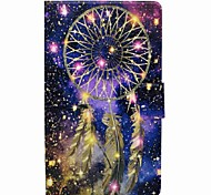 cheap -Case For Samsung Galaxy Full Body Cases Tablet Cases Dream Catcher Cartoon Hard PU Leather for Tab A 8.0 (2017)