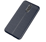 cheap -Case For Huawei Mate 10 lite Mate 10 Frosted Embossed Back Cover Solid Color Soft TPU for Mate 10 Mate 10 pro Mate 10 lite Huawei