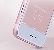 Недорогие -новейший круглый край металлический корпус защитный алюминиевый сплав бампер рамка для iPhone 5 / 5s