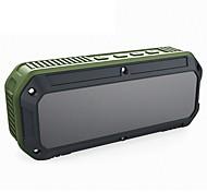 preiswerte -CRDC Bluetooth Lautsprecher Bluetooth 4.0 3.5 mm AUX Lautsprecher für Aussenbereiche Grün Schwarz