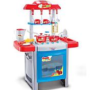 Недорогие -Ролевые игры Игрушка кухонные наборы Игрушка Посуда и чайные сервизы Детская техника Кулинария Игрушки Игрушки LED освещение Звук Девочки