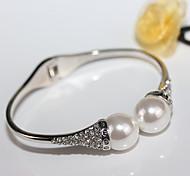 cheap -Women's Cuff Bracelet - Simple, European, Fashion Bracelet Gold / Silver For Wedding / Party