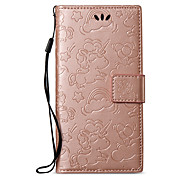 cheap -Case For Sony Xperia XA1 Xperia L1 Card Holder Wallet with Stand Embossed Full Body Cases Solid Color Unicorn Hard PU Leather for Sony