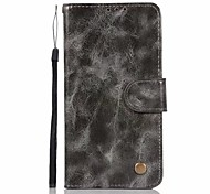 cheap -Case For LG LG K10 StyLo 3 Q6 Plus Card Holder Wallet with Stand Flip Full Body Cases Solid Color Hard PU Leather for LG X Style LG X