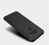 cheap -Case For LG V30 Q6 Frosted Back Cover Solid Color Soft TPU for LG V30 LG Q6 LG G6