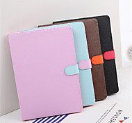 cheap -Case For Apple iPad mini 4 Shockproof with Stand Auto Sleep/Wake Up Full Body Cases Solid Color Hard PU Leather for iPad Pro 9.7''