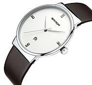 Недорогие -Жен. Наручные часы Уникальный творческий часы Имитационная Четырехугольник Часы Японский Кварцевый Календарь Защита от влаги Натуральная