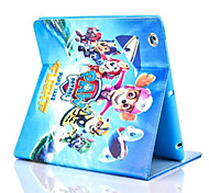 cheap -Case For iPad Mini 3/2/1 iPad mini 4 Card Holder Shockproof with Stand Pattern Auto Sleep/Wake Up Full Body Cases Cartoon Hard PU Leather